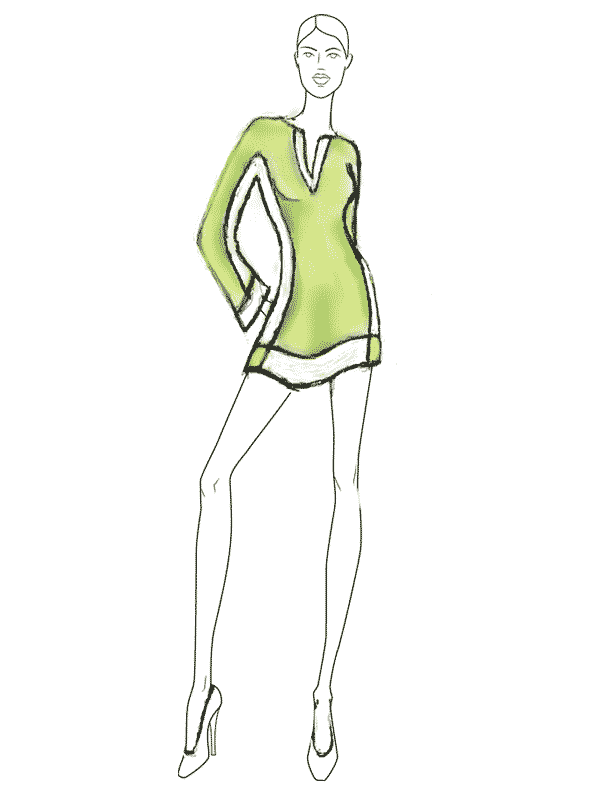 001- fashion illustration drawings gallery Dorothy-New-1