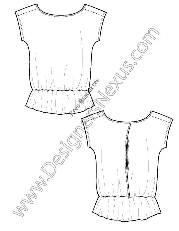 008-knit-tshirt-tunic-free-illustrator-flat-sketch