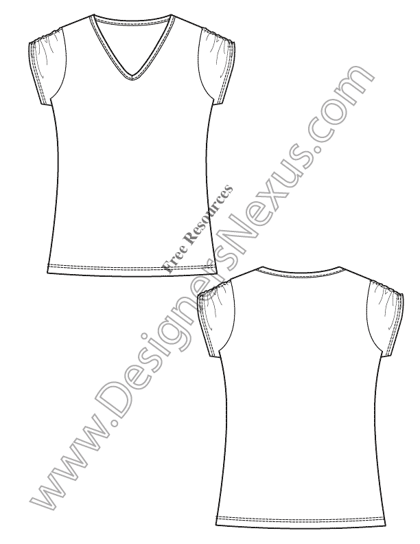 011-free-vector-tshirt-template-illustrator-fashion-technical-flat-sketches