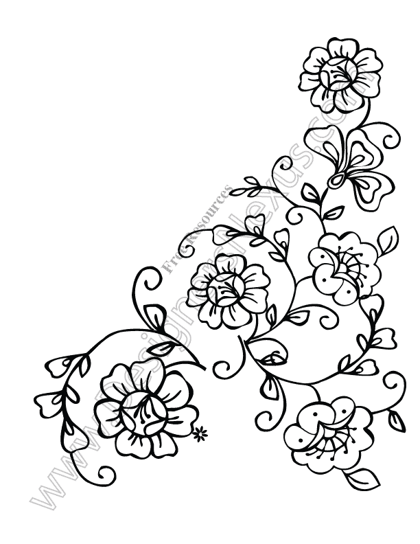 Small Bouquet Tattoo Colour