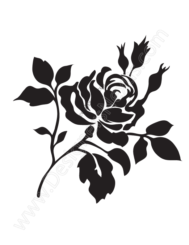 014-free-rose-vector-graphic-rose-stencil-clip-art