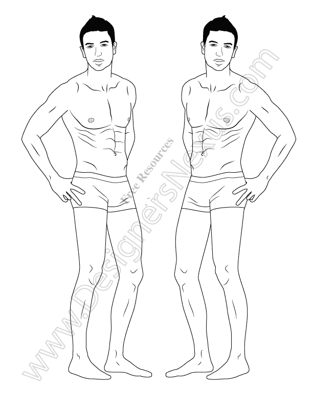 021-male-croquis-figure-template