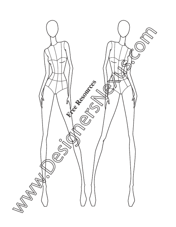 Female Fashion Template Images