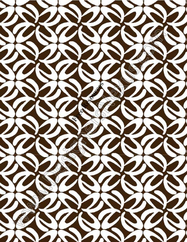 029- floral geometric print seamless pattern design