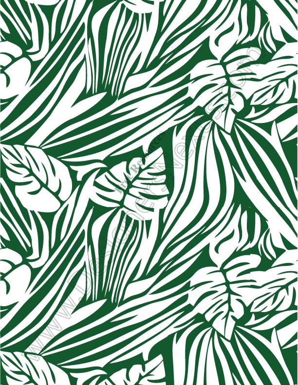 V70 Safari Leaf Jungle Print Seamless Pattern Designers