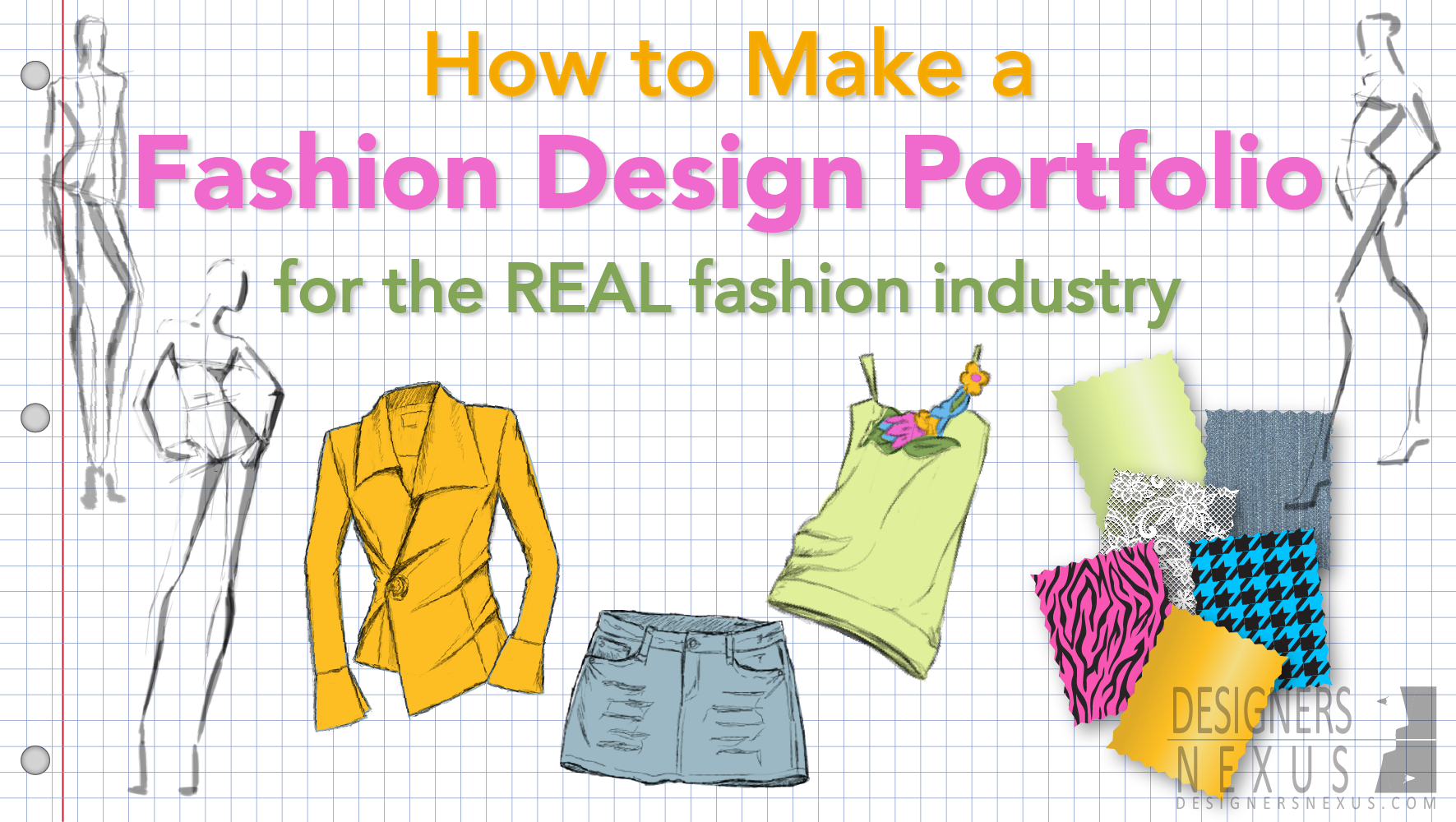 How To Make A Fashion Portfolio Designers Nexus