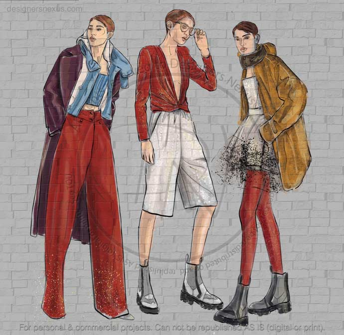 Fashion Sketches 080 preview image