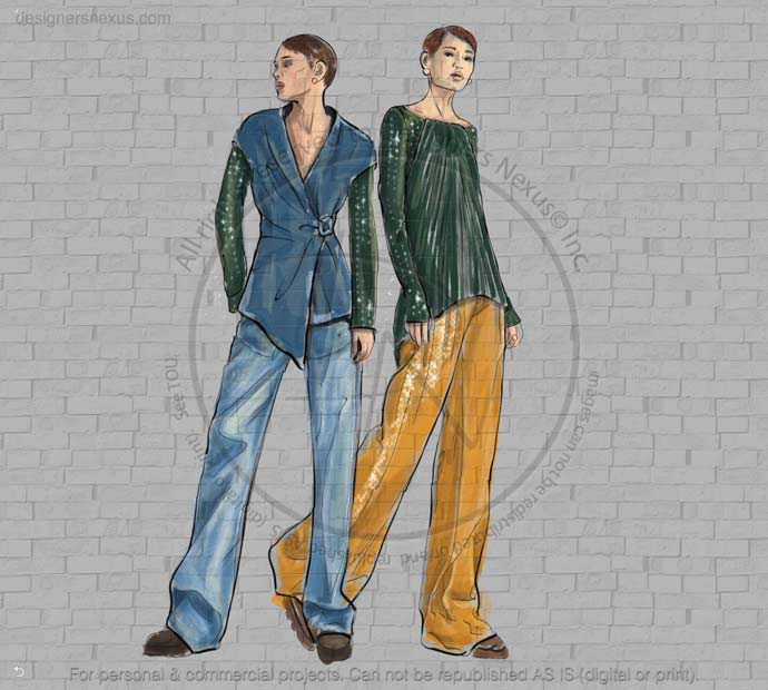 Fashion Sketches- Illustration 081 preview image