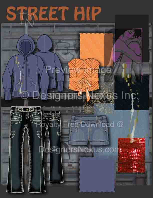 fashion illustration 026b Street Hip