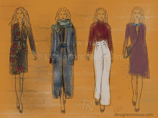 Fashion Sketches: Illustration 082 preview image