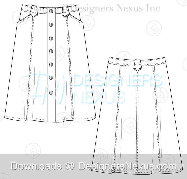 flat-fashion-sketch-skirt-040-preview-image