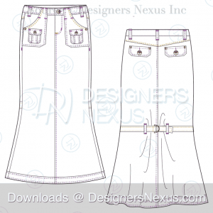 flat-fashion-sketch-skirt-056-preview-image