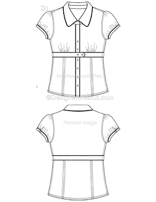 Fashion Technical Drawing 250 Free Vector Fashion Flat Sketches