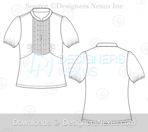 flat-fashion-sketch-top-068-preview-image