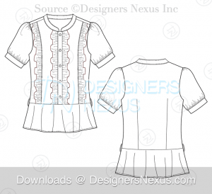 flat-fashion-sketch-top-071-preview-image