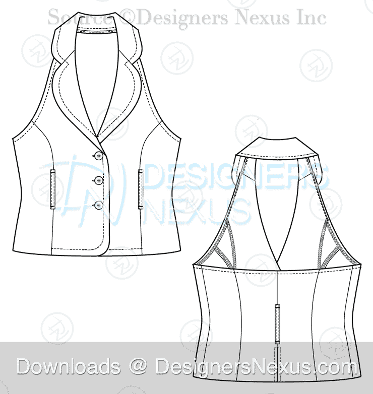 flat-fashion-sketch-vest-039-preview-image